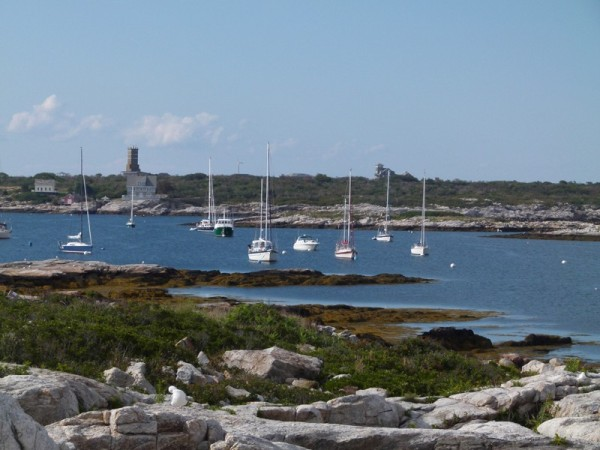 We arrived at Isles of Shoals on Monday afternoon and took a mooring in Gosport Harbor.