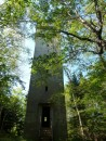 This is one of the towers we climbed on Jewell Island - it was a World War II spotting tower.