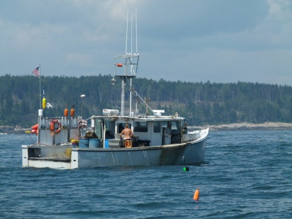 Maine is also full of lobster boats...