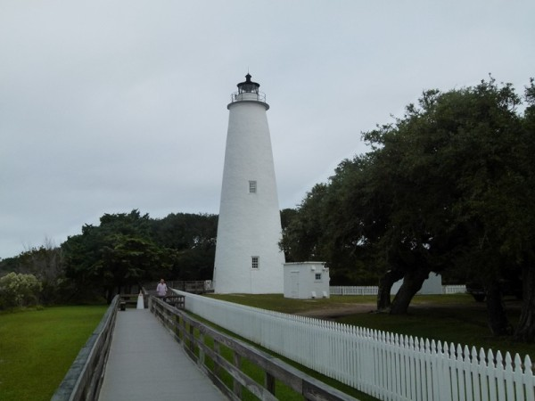 From there we went to Ocracoke. We rented bikes and rode to the lighthouse.