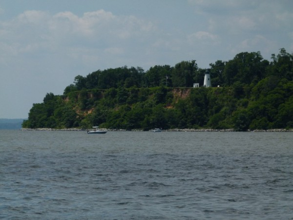 We headed north towards the Chesapeake and Delaware Canal, heading past Turkey Point.