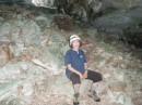 We managed to explore the cave at Oven Rock off of Little Farmers.  It wasn