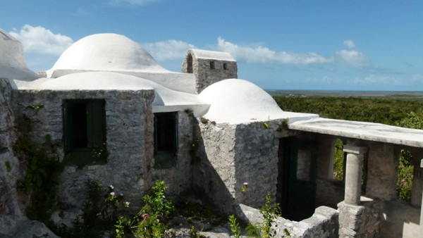 The buildings were built by Father Jerome and are a miniature replica of a European Franciscan Monastery.  It is also the highest point in the whole Bahamas!