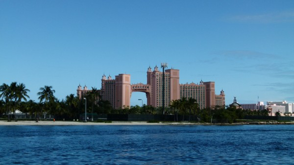Here is a better picture of the Atlantis hotel. We didn
