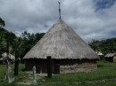 Traditional Kanuk tribu hut