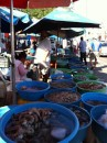 Aaah!  The Shrimp Ladies of Mazatlan.  A block of street vendors, all selling shrimp and other treasures from the sea.