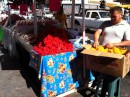 Vendor outside Mazatlan Market