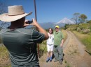Gary & Renee met us in Barra for a visit.  We took a tour up to see Colima volcano.