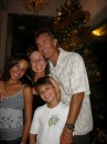 With Cammi & Cole in Cartagena at Christmastime