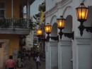 Cool street lamps in Cartagena