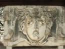 Another very special Medusa relief at Temple of Apollo