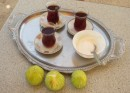 Turkish tea and fig lunch