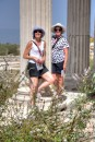 Ronnie and Ros at Miletus