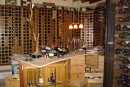 "DSC01399: Wine room, above ground, no temp. control, of ""El Greco"""