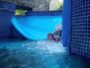 The water slide at thThe Grand Marina Hotel in Barra