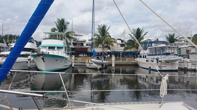 Tiny 37' Boat