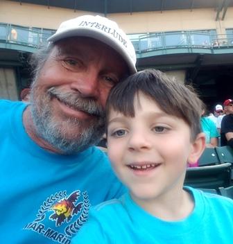 Charlie & Elmer - Indians Baseball Game