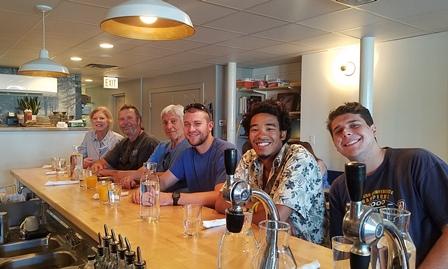 Eileen, Charlie, Greg, Austin, Jordan & Hunter