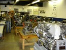 Lots and lots of engines to play with.  A good classroom.