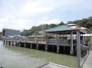 The wharf at the Sandakan Yacht Club