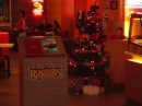 The Christmas tree at Kenny Rogers.  For a country that is primarily Muslim, I was surprised.
