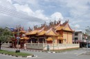 The Chinese Temple.  Built 100 years ago here in Kudat.