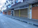 Downtown Kudat on a Sunday afternoon.  90 percent of the stores are closed by 1400.