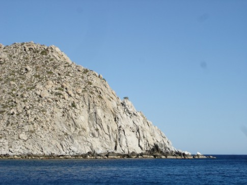 The Eastern end of Los Frailes.