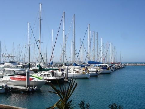 More boats in Marina Palmira.