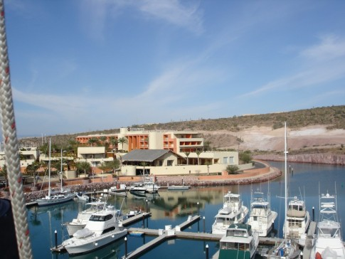 More of the Marina and the hotel.