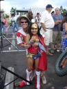 Gail and Wonder Woman - Kick Off Party