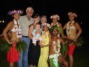 Greg has to be in the act too, Club Bali Hai, Moorea: Greg had to get into the act too...