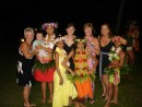 Polynesian Shows are great fun: What fun, photos after the Polynesian Show at our resort