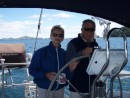 Alan & Robyn take to sailing Volare