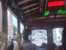 riding the cable car.