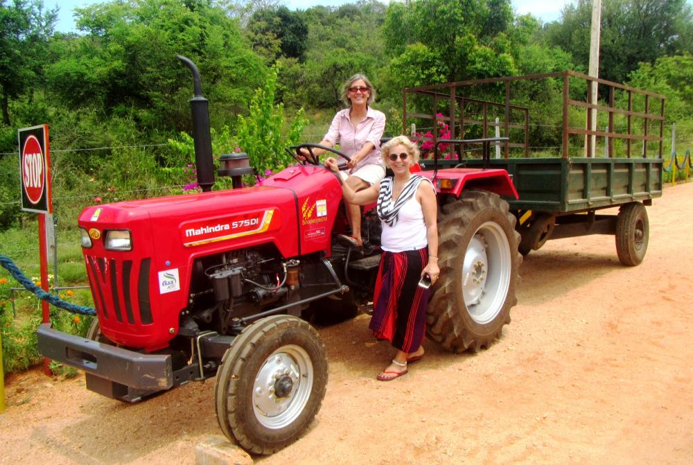 WOMAN OF SCIENCE: Doctor Beate Breitwieser is a German professor of engineering lecturing in Recycling and Ecology at the national university of Sri Lanka. Beate and Kethees are CGL business partners, and the Odd Couple of recycling!