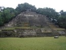 Jaguar Temple at Lamanai
