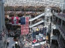 Pentagon City Mall, all dressed for July 4th