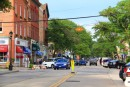 Downtown Northport, on Long Island. A VERY quiet town, too quiet, walk thru in 10 minutes!!