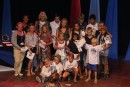 ARC kids on stage at Prize giving ceremony