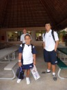 Kids are off to Mexican school: uniforms, lunch boxes, backpacks...check, check, check!