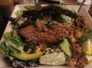 Much preferred the smoked BBQ brisket on avocado salad. Washington, DC