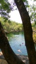 Hot sunny days, spent at the local cenote (sinkhole)