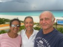 Last day for Marie Suzanne, storm about to break over Cancun