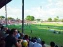Rugby game in Latoka, Fiji vs Cook Islands.