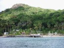 Village on Makogai Island.