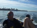 Our dinghy ride around the harbor
