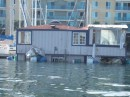 Floating house that isn
