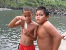 IMG_2591_7_1: The strong boys of the Marquesas at Fatu Hiva where we made landfall