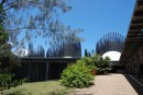 The museum at Noumea is an interesting architectural structure
